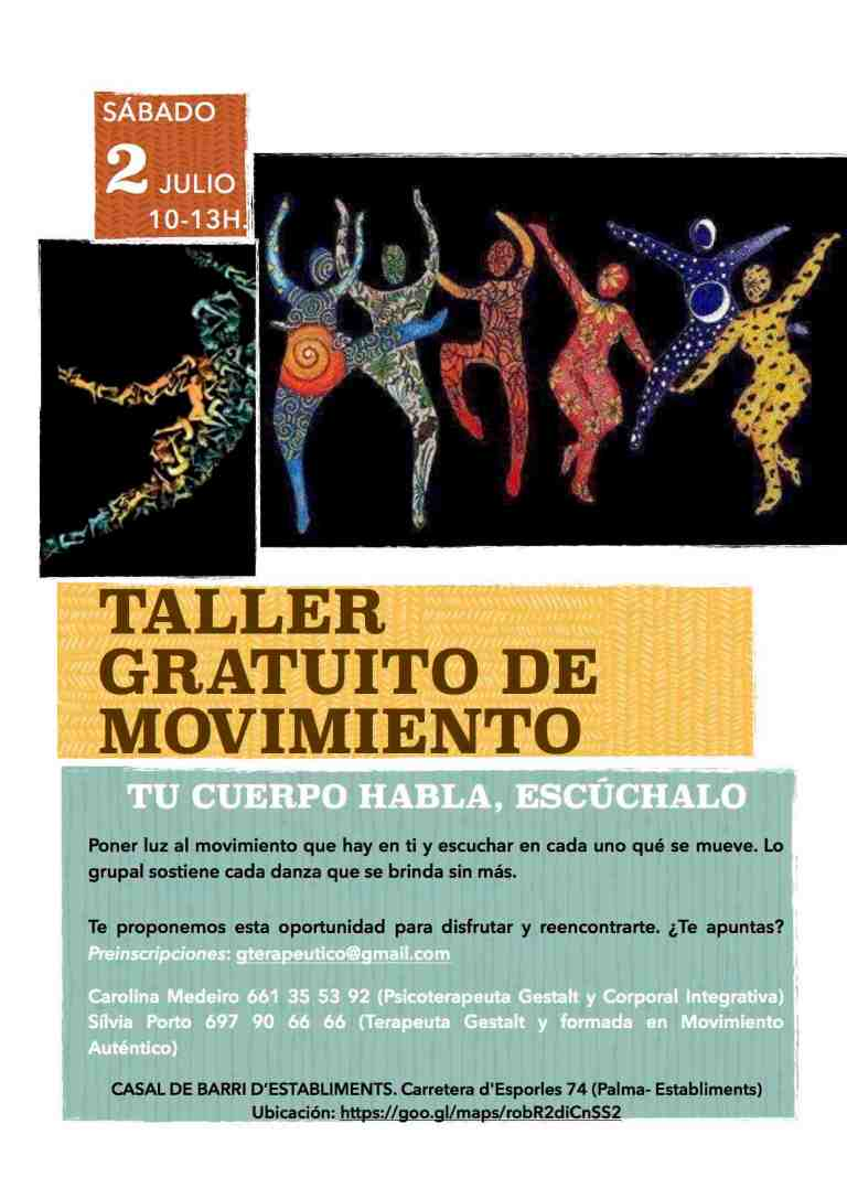 Taller movimiento gratuito